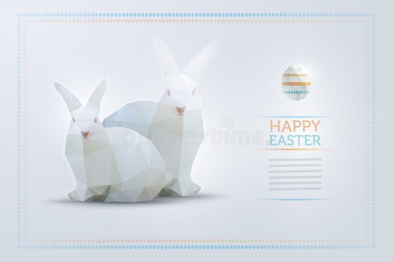Modello di progettazione di Pasqua illustrazione vettoriale