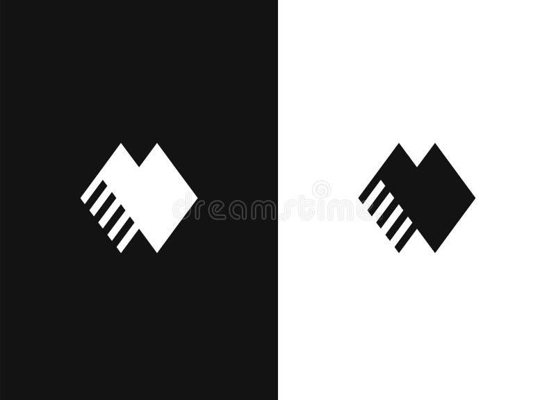 Modello 34 di progettazione di logo illustrazione di stock