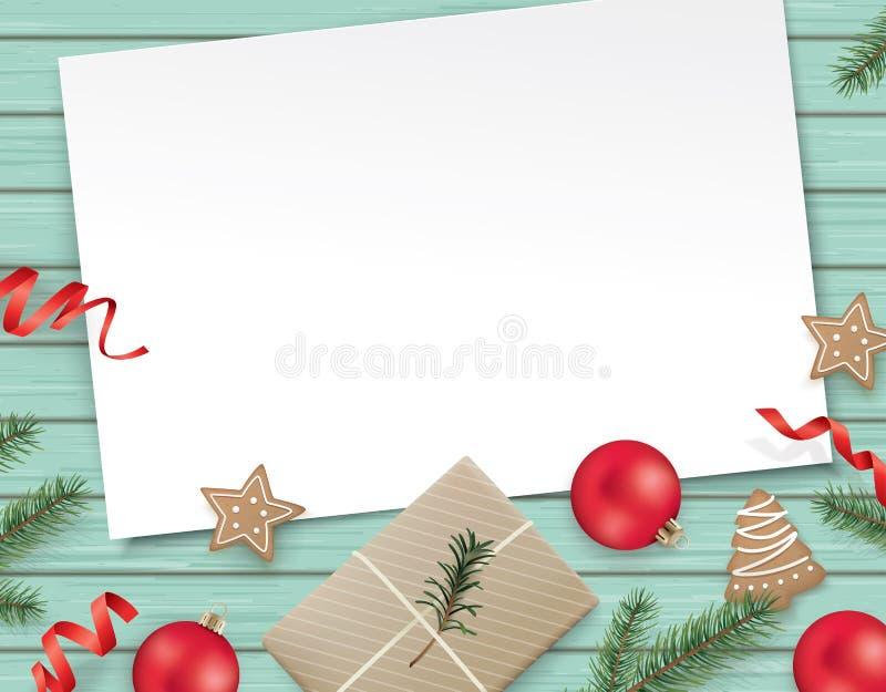 Modello di progettazione di Natale royalty illustrazione gratis