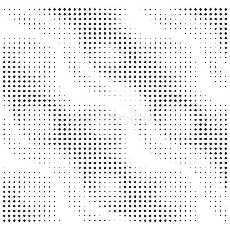Modello di rumore di vettore Elemento di semitono di vettore di progettazione royalty illustrazione gratis