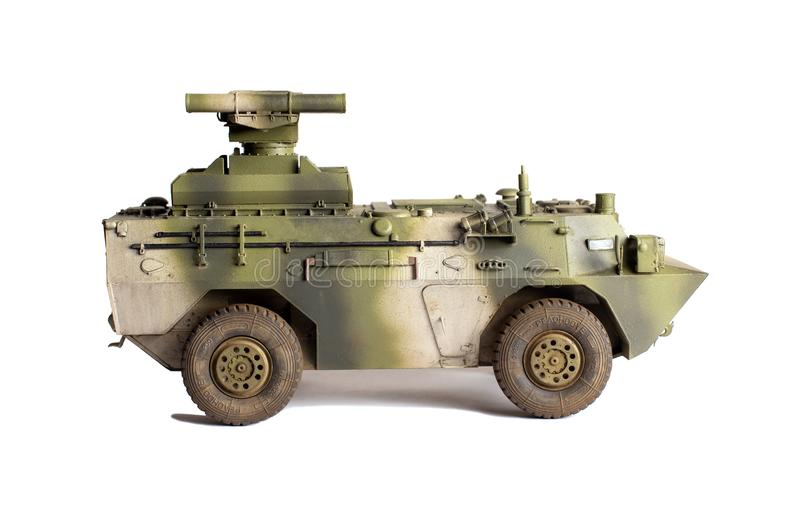 Modello di scala di vecchio veicolo immagine stock