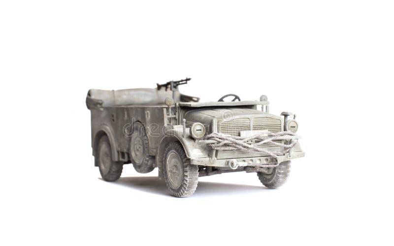 Modello di scala di vecchio veicolo fotografia stock libera da diritti