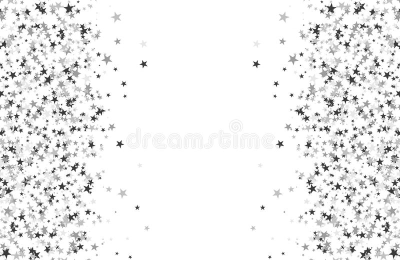 Modello di scintillio fatto delle stelle royalty illustrazione gratis
