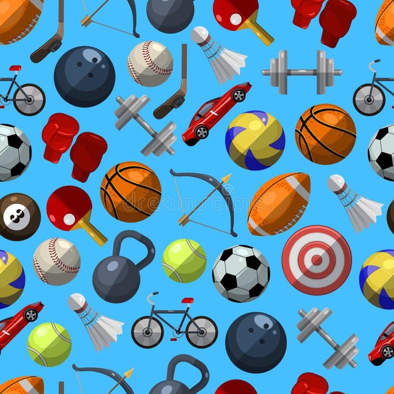 Modello di sport illustrazione di stock
