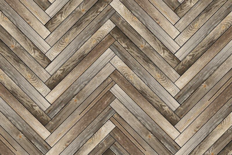 Modello di vecchie mattonelle di legno immagini stock
