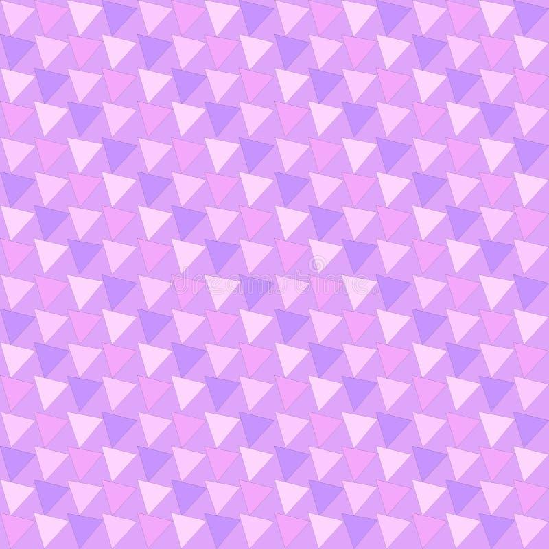 Modello di vettore del triangolo Modello moderno geometrico variopinto dell'estratto illustrazione vettoriale