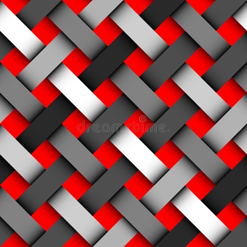 Modello diagonale del plaid royalty illustrazione gratis