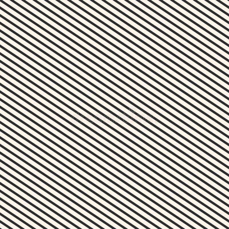 Modello diagonale delle bande Struttura a strisce senza cuciture di vettore royalty illustrazione gratis