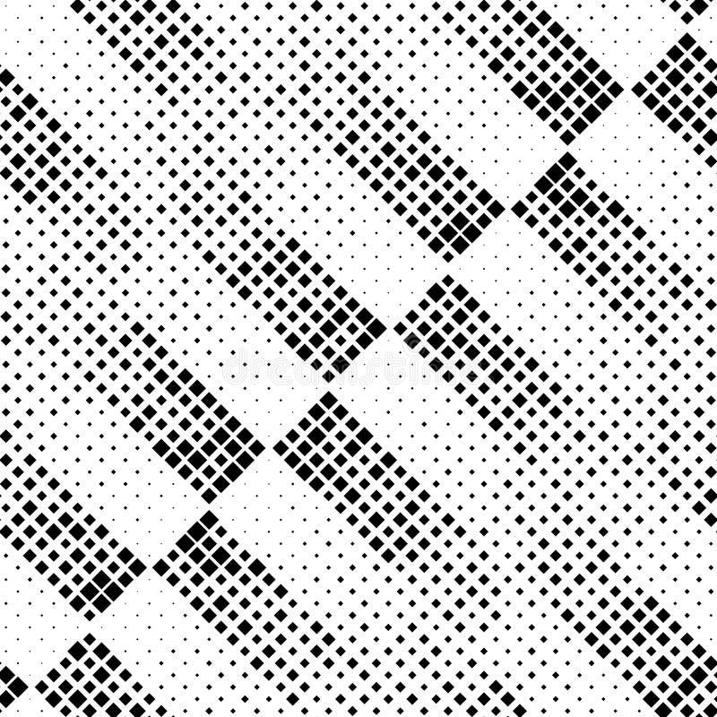 Modello diagonale senza cuciture del quadrato e della banda royalty illustrazione gratis