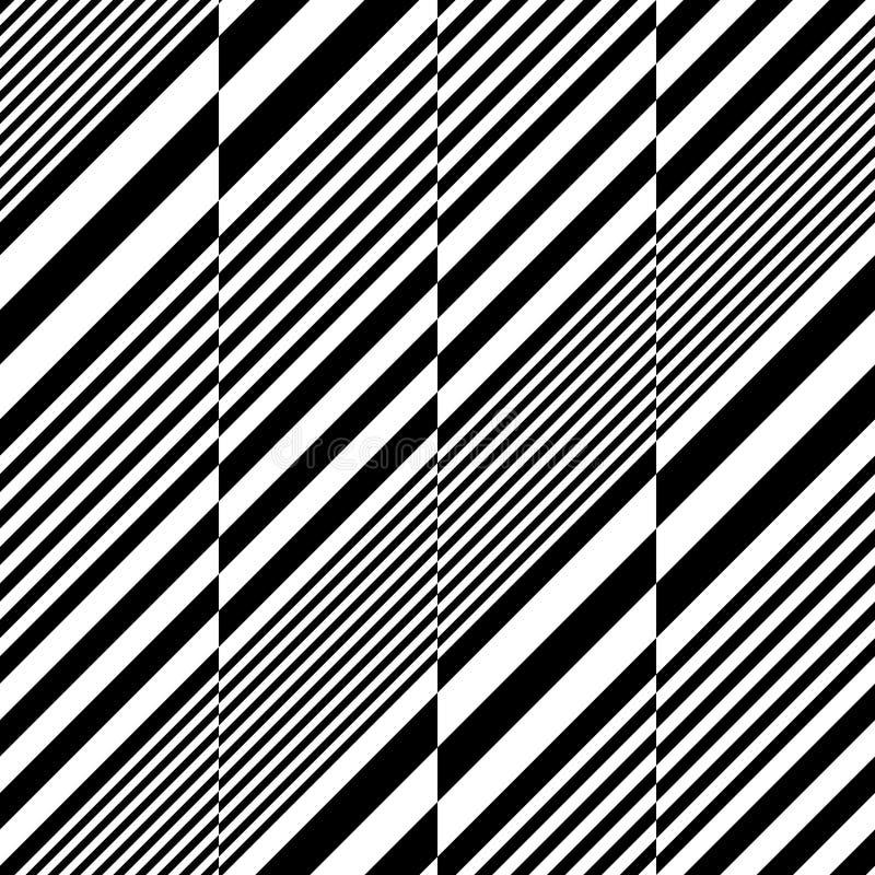 Modello diagonale senza cuciture della banda royalty illustrazione gratis