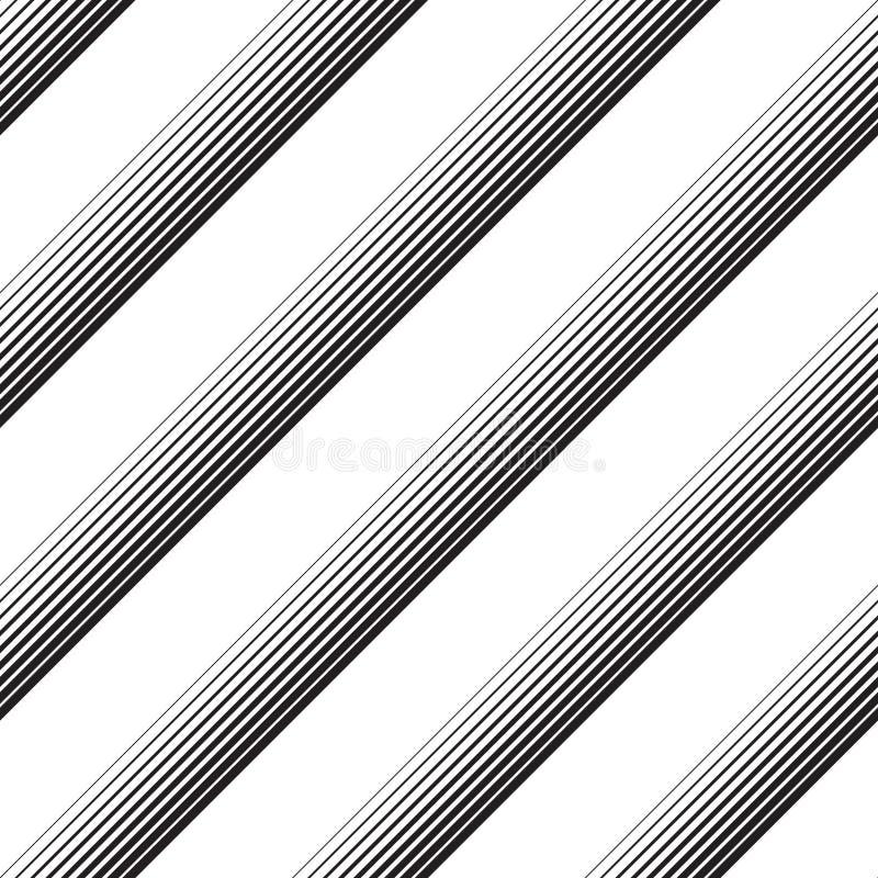 Modello diagonale senza cuciture della banda illustrazione di stock
