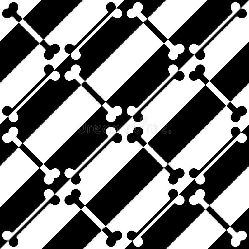 Modello diagonale senza cuciture della banda illustrazione vettoriale