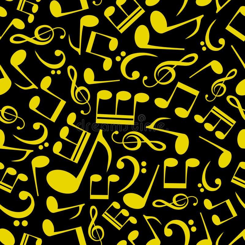 Modello Eps10 Della Nota Di Musica Fotografia Stock