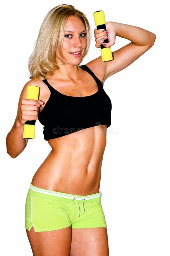 Modello femminile di forma fisica dalla Croazia fotografia stock