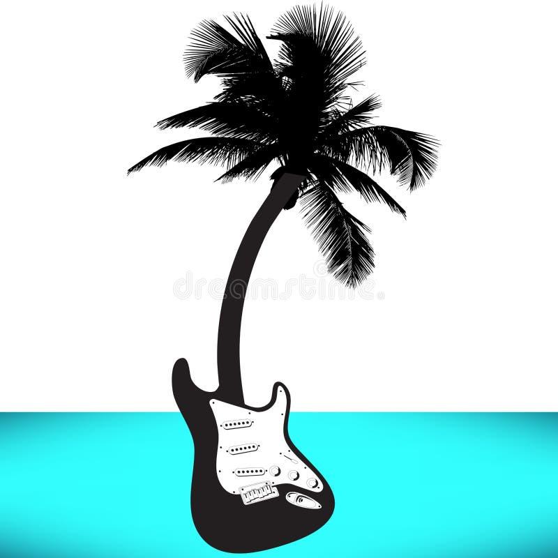 Modello festivo del manifesto di musica di festa illustrazione di stock