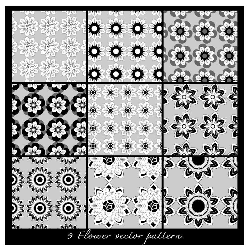 Modello floreale di vettore illustrazione vettoriale