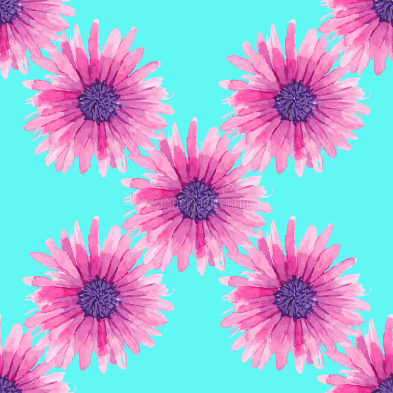 Download Modello Floreale Senza Cuciture Dell'acquerello Illustrazione Vettoriale - Illustrazione di naughty, esotico: 55359602