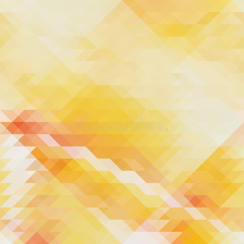 Modello geometrico astratto con i triangoli illustrazione di stock