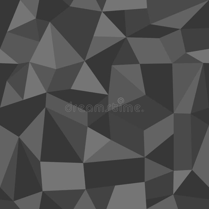 Modello geometrico astratto d'annata insolito. illustrazione vettoriale