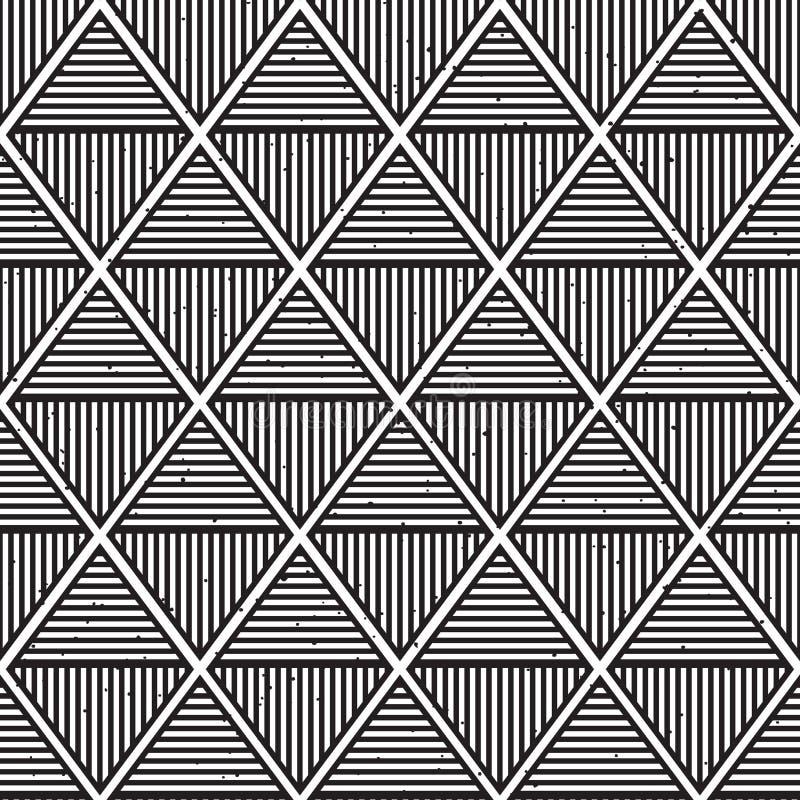Modello geometrico astratto della stampa di progettazione di modo dei pantaloni a vita bassa immagini stock