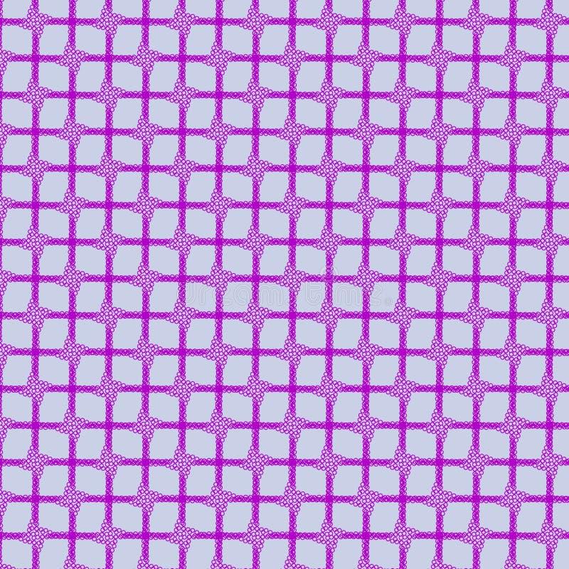 modello geometrico dei quadrati porpora illustrazione vettoriale
