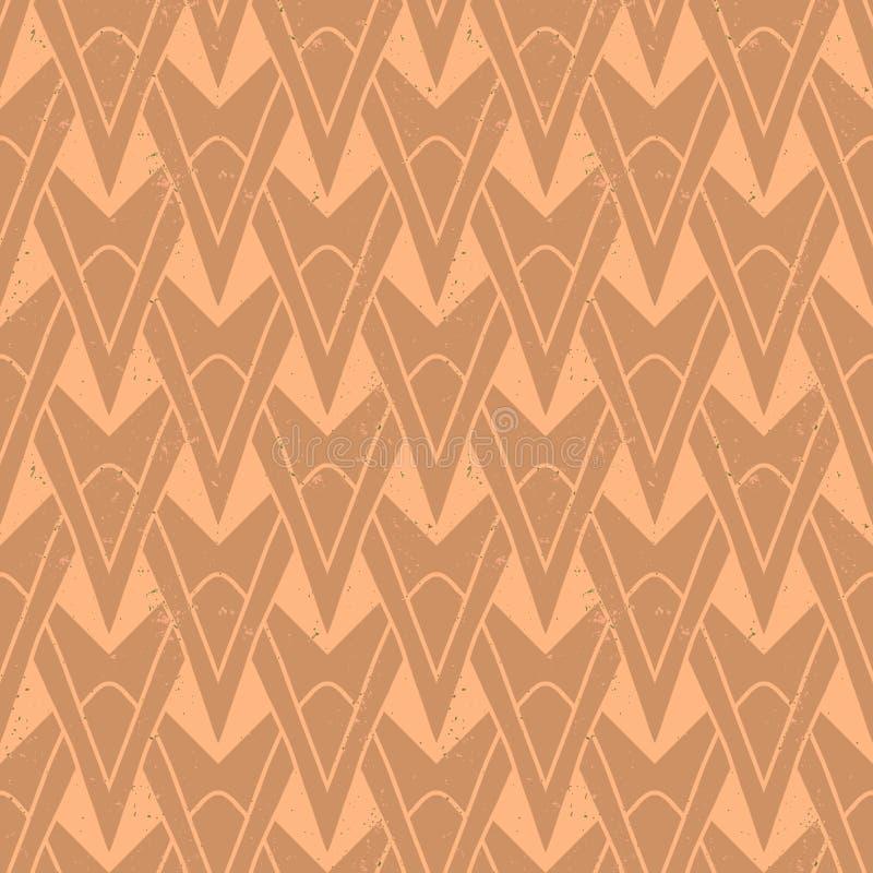 modello geometrico di art deco degli anni 30 illustrazione vettoriale