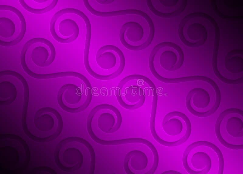 Modello geometrico di carta porpora, modello astratto del fondo per il sito Web, insegna, biglietto da visita, invito, cartolina royalty illustrazione gratis