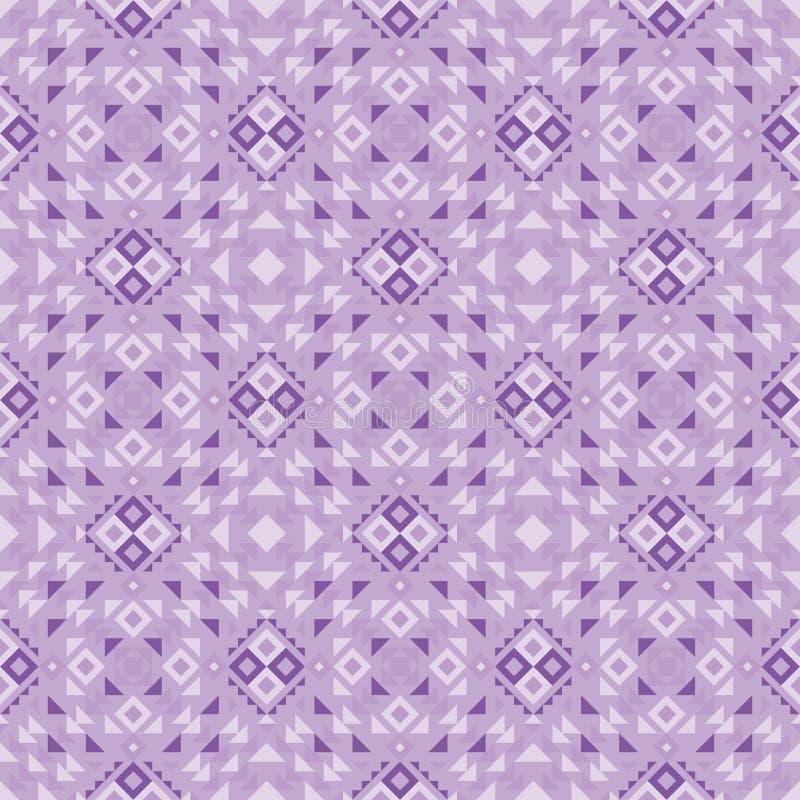 Modello geometrico di fusione tribale illustrazione di stock