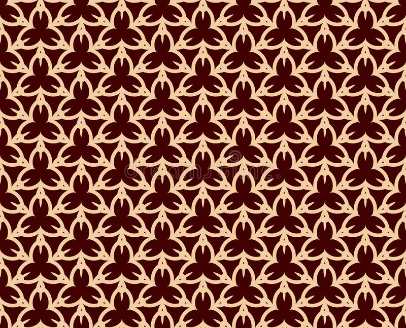 Modello geometrico di lusso Vector il reticolo senza giunte Struttura alla moda lineare moderna Ornamento a strisce geometrico royalty illustrazione gratis