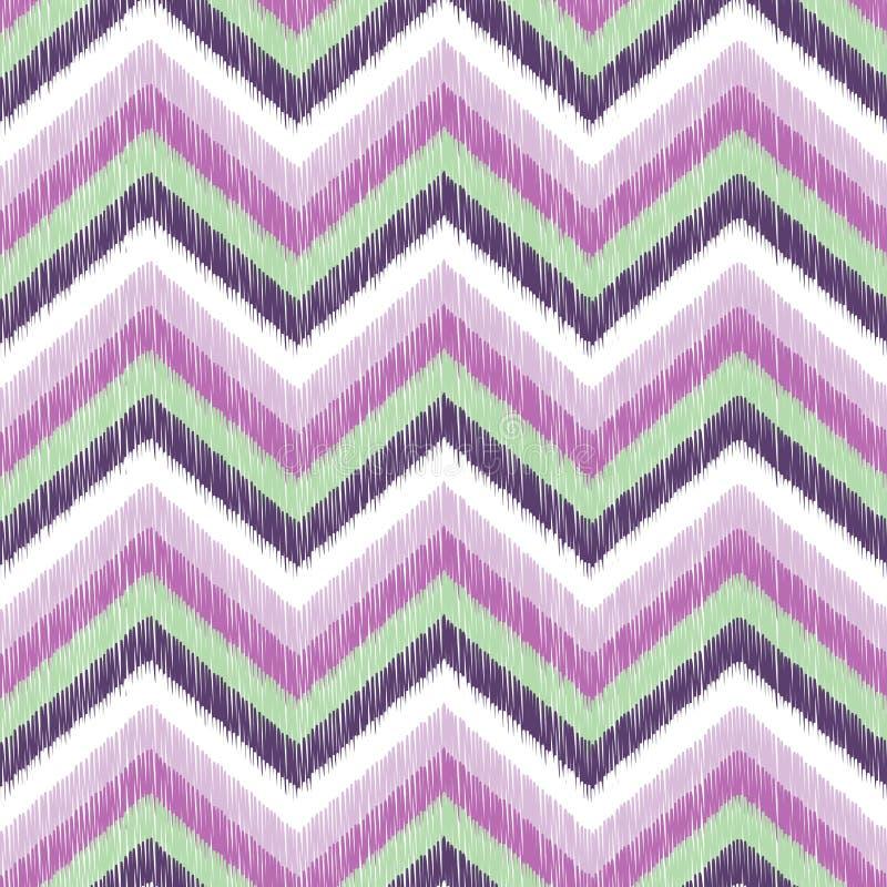 Modello geometrico di zigzag senza cuciture royalty illustrazione gratis