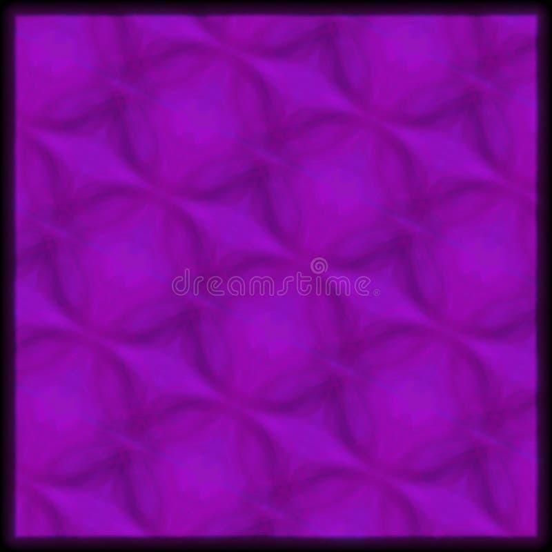 modello geometrico disegnato a mano porpora illustrazione di stock