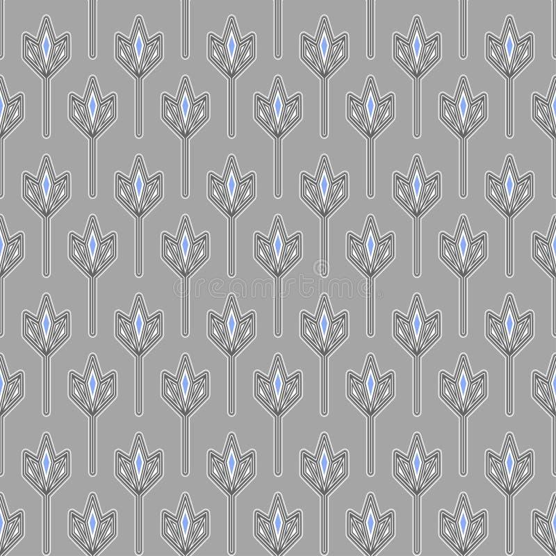 Modello geometrico grigio immagine stock