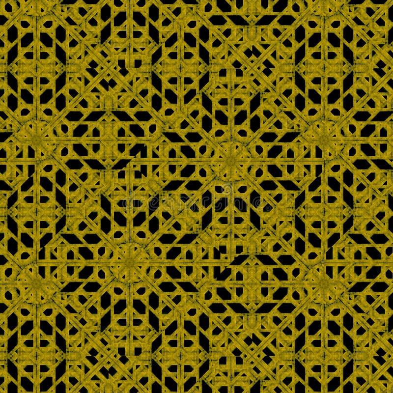Modello geometrico islamico moderno fotografie stock