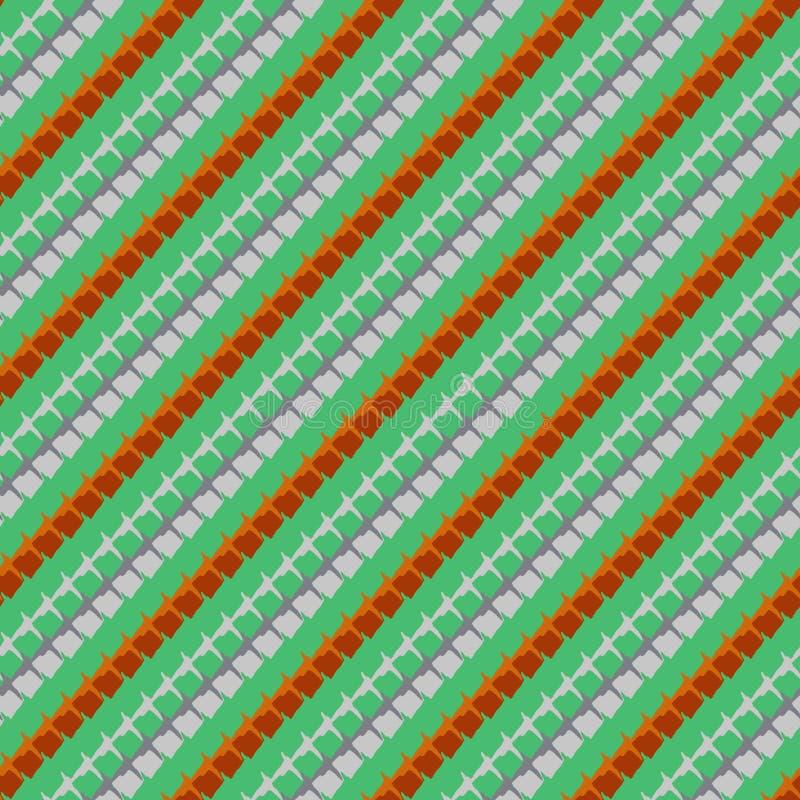 Modello geometrico in i colori di primavera illustrazione vettoriale