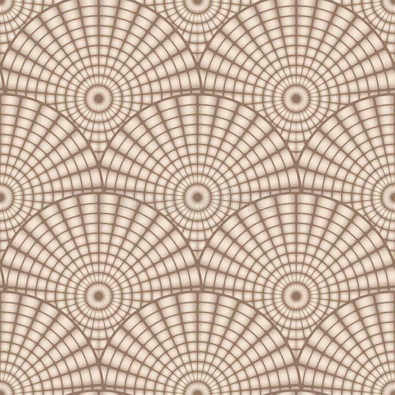 Modello geometrico senza cuciture astratto di vettore illustrazione vettoriale