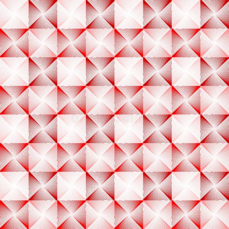 Modello geometrico variopinto senza cuciture di progettazione illustrazione di stock
