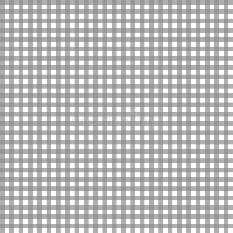 Modello grigio del percalle illustrazione di stock