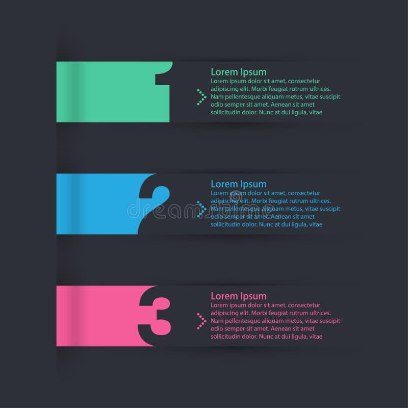 Modello infographic moderno immagini stock