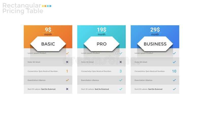 Modello infographic moderno illustrazione di stock