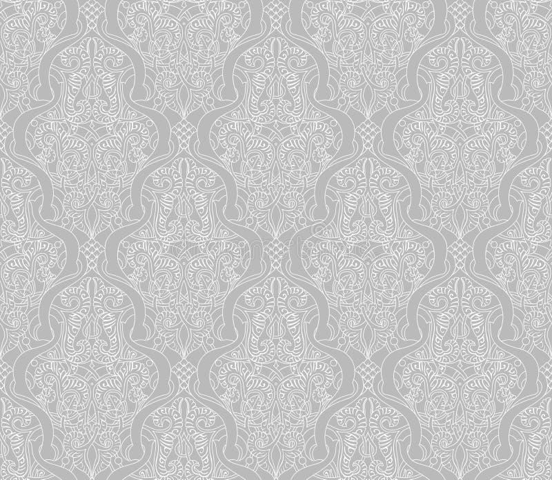 Modello islamico d'annata di motivo illustrazione vettoriale