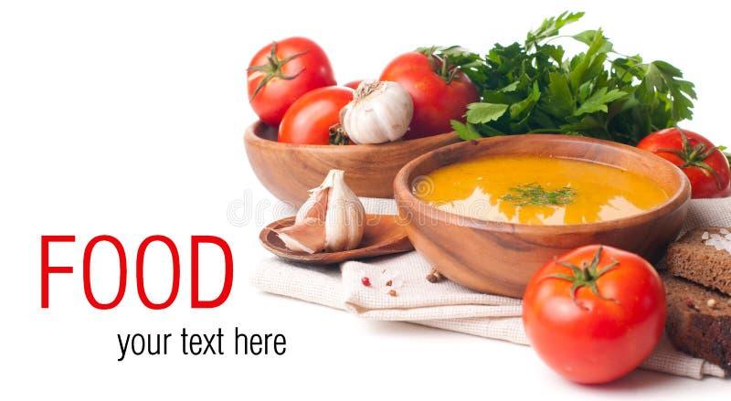 Modello isolato alimento vegetariano fotografia stock