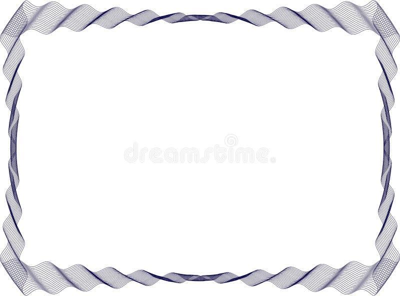 Modello isolato del fondo della struttura per il certificato immagine stock libera da diritti