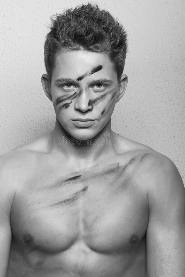 Modello maschio immagini stock libere da diritti