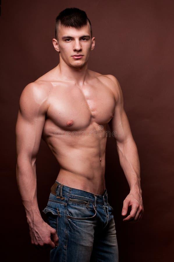 Modello maschio fotografia stock