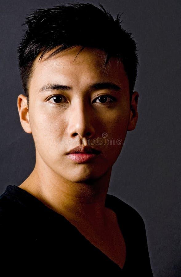 Download Modello maschio 2 fotografia stock. Immagine di nero, intenso - 213564