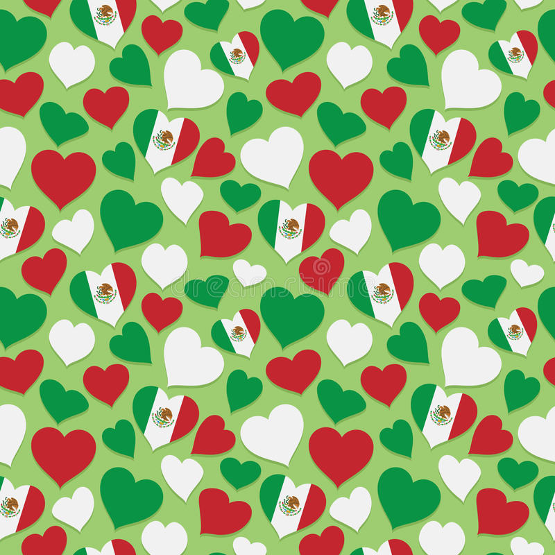 Download Modello Messicano Del Cuore Illustrazione di Stock - Illustrazione di rosso, clipping: 56886147