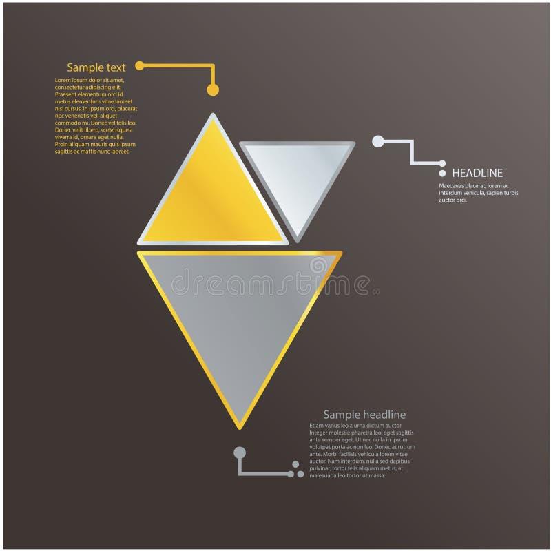 Download Modello Moderno Del Triangolo Con I Colori Freschi. Icona Di Logo. Illustrazione Vettoriale - Illustrazione di comunicazione, information: 30831119