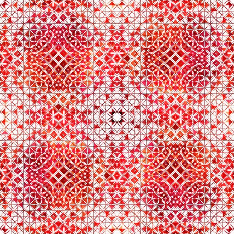 Modello moderno di ripetizione creativa di struttura della geometria royalty illustrazione gratis