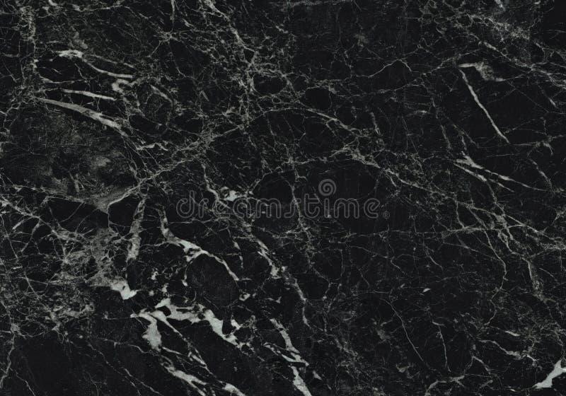 Modello naturale di marmo nero per fondo, in bianco e nero astratto, struttura del granito immagini stock