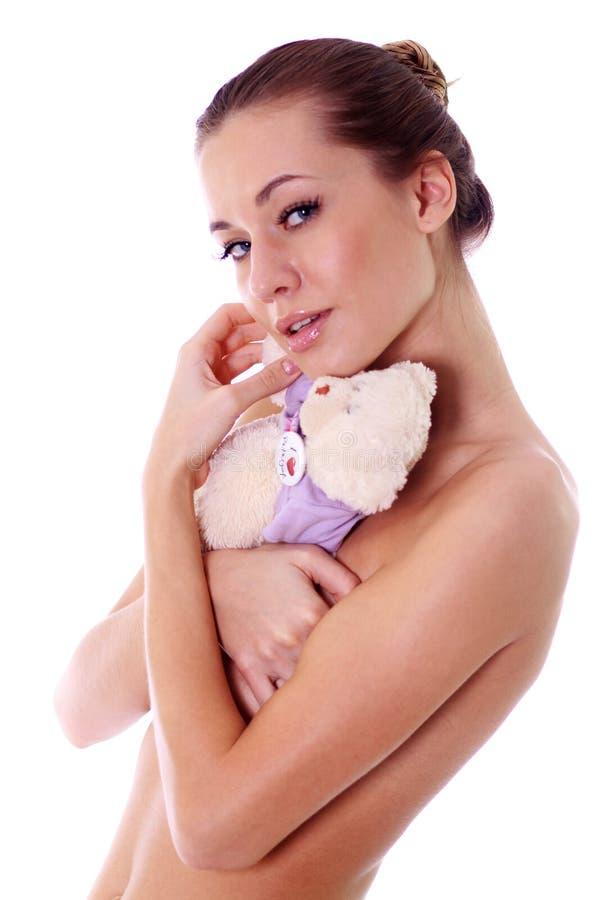 Modello nudo sexy fotografia stock libera da diritti